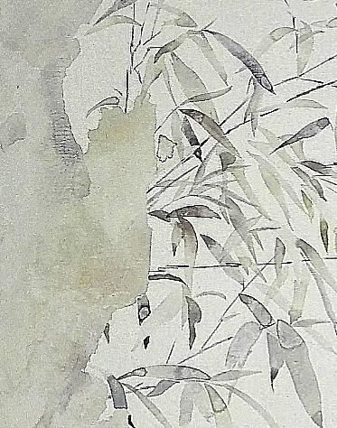 局部图1—《花期时时No.160619》60×60cm布面油画2016